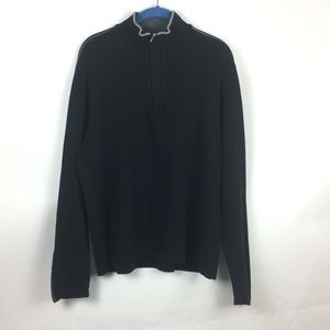 Boss Mens Pullover Black Size XL Regular Fit
